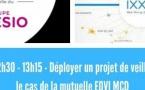 12h30 - 13h15 - Déployer un projet de veille stratégique : le cas de la mutuelle EOVI MCD